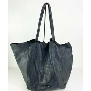 Linea PelleLeather Tote bag Perforated Shoulder
